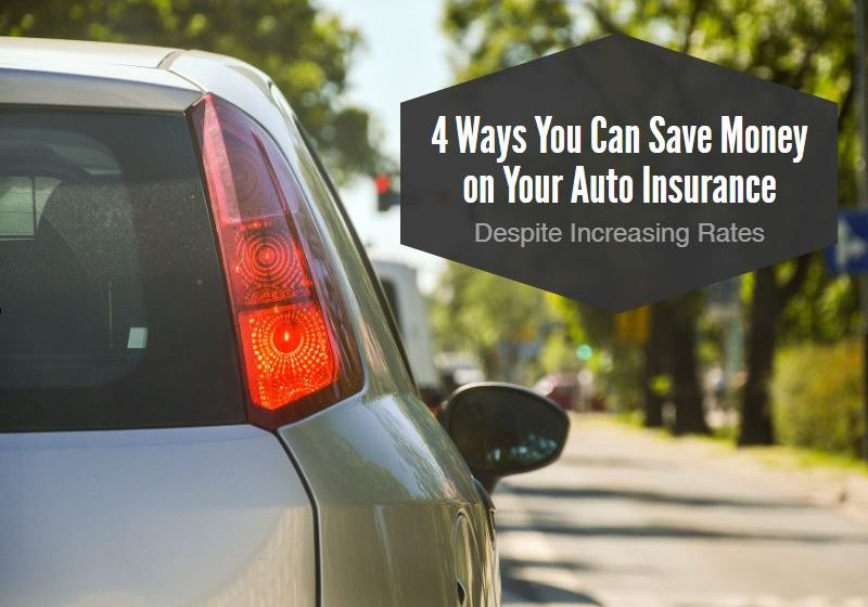 4 Way To Save On Auto Insurance