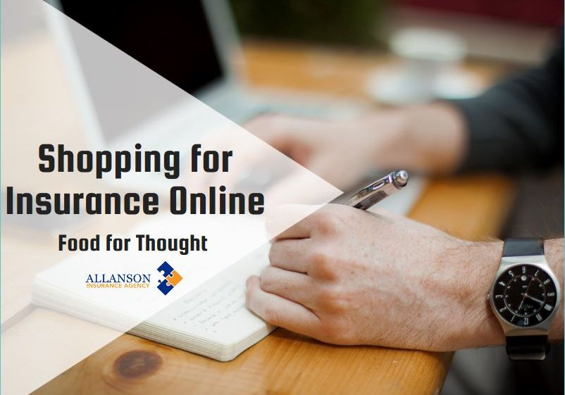 Shopping for Insurance Online - Food for Thought